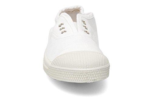 Bensimon - Zapatillas para mujer blanco blanco