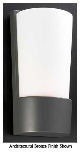 PLC Lighting 1721SL Chimera 1 Light Outdoor Wall Sconce in Architectural Silver - Architectural Silver Outdoor Wall