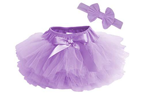 Dancina Baby Bloomer Romper Tutu Skirt Ages 6-24 Months Lavender -