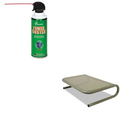 KITASP27021NSN3982473 - Value Kit - NIB - NISH 7930013982473 Power Duster (NSN3982473) and Allsop Metal Art Jr. Monitor Stand (ASP27021)