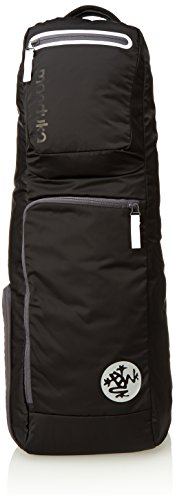 Manduka GO Roam Crossbody Yoga Mat Backpack, Black