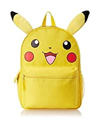 Backpack - Pokemon - Pikachu Face w/Ears School Bag New 837737