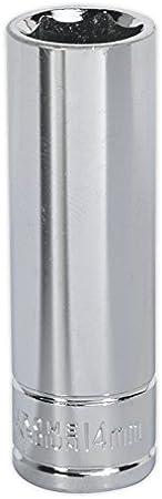 Siegen S0593 15mm 3//8Sq Drive Deep WallDrive/® Socket