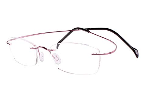 Agstum Titanium Rimless Flexible