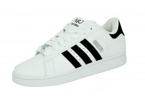 new styles c2d43 a02fc Adidas CAMPUS SK Blanco Negro Zapatillas de deporte para hombre Amazon.es  Zapatos y complementos