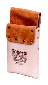 Deluxe Leather Grip Carpet Knife and Tool Pouch