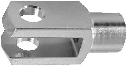 M4 ohne Bolzen DIN71751 verzinkt 20 St/ück Gabelkopf 4x8