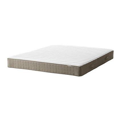 IKEA HAMARVIK núcleo de muelles colchón oscuro Beige; Dureza media; (160 x 200