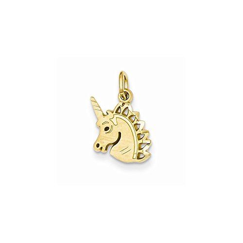 14k Yellow Gold Unicorn Charm 14k Yellow Gold Unicorn Charm