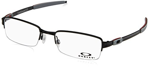 Oakley Tumbleweed 0.5 OX3142-0152 Eyeglasses Polished Black Clear Demo 52 - Men For Reading Oakley Glasses