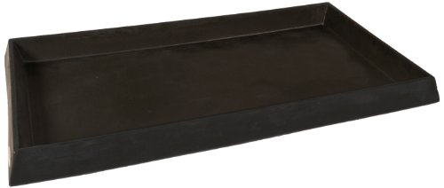 UltraTech 2328 Polyethylene Ultra-Containment Tray without Grating, 16.5 Gallon Containment Capacity, 5 Year Warranty, Black (Containment Tray Ultra)