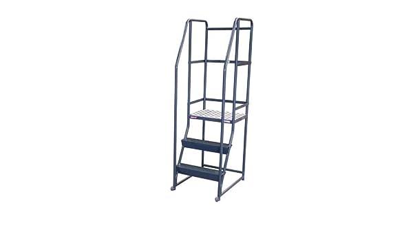 Escalera de 3 peldaños, 200 kg: Amazon.es: Bricolaje y herramientas