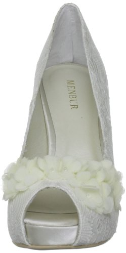 Wedding Pumps Toe Menbur Rea Damen Peep 7TzqaqWdn