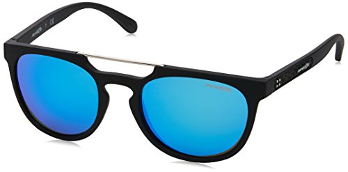 Arnette Men's Woodward Non-Polarized Iridium Rectangular Sunglasses, MATTE BLACK, 52 ()