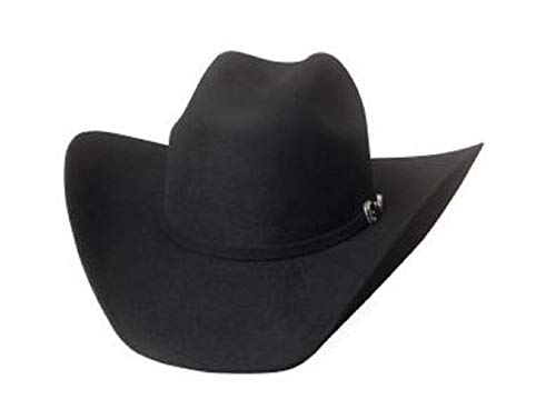 Bullhide Big Boss 8X Beaver Fur Blend Cowboy Hat 0745SB Black