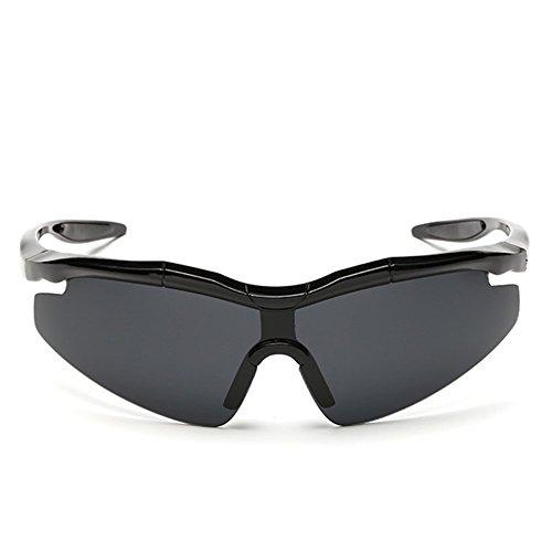 A-Roval Men Polarized Rectangular Sportive Fashion Plastic - Sunglasses Closeout Bolle