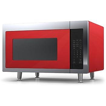 Big Chill Retro Microwave 1.6 cu. ft. 1200 watts Cherry Red