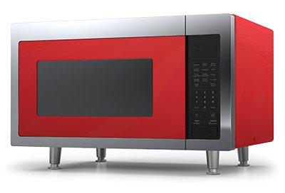 1200 watt red microwave - 1