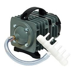 O2 Commercial air Pump, 1157 gph 4.64psi. Aquarium,Hydroponics,Pond pump by Elemental Solutions