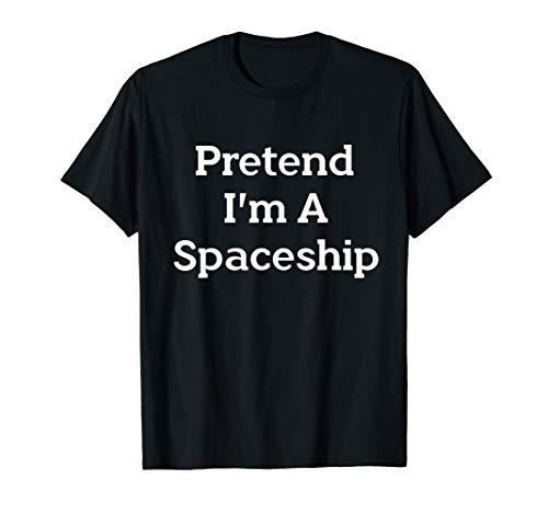Rocket Ship Costumes Ideas - Pretend I'm Spaceship Costume Funny Halloween