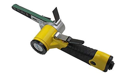 US PRO 10mm Variable Speed Air Belt Sander 3 x 330mm x 10mm Belts 8325