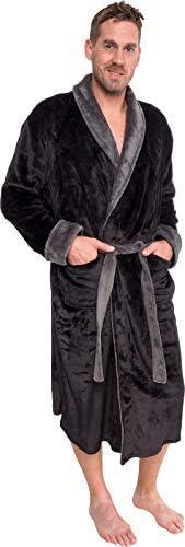 Ross Michaels Collar Kimono Bathrobe