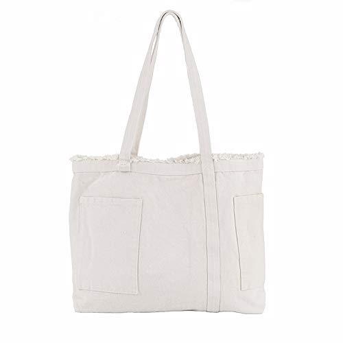 Lady Bags Trend Street Bolsillo deshilachado lavado Bolsas