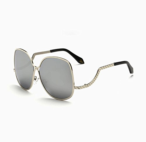 ZWC Metal sunglasses woman Everbright box VB color film bending the legs against the tide sunglasses , - Sunglasses Vb