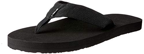 Teva Men's Mush II Flip Flop,Brick Black,11 M - Wet Black New Look Buckle
