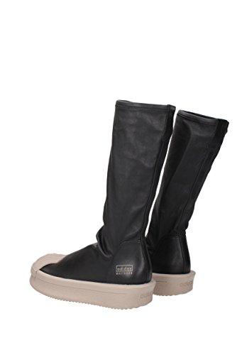 Ba9944mastodon Rick Owens Sneakers Unisex Læder Sort Sort C6VNaZ