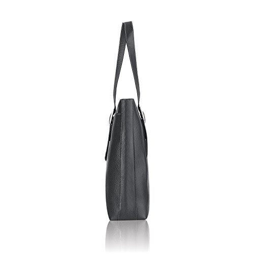 Solo Plaza 15.6 Inch Laptop Tote, Black by SOLO (Image #1)