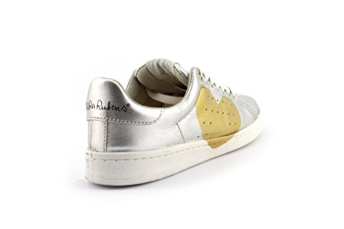 Sneaker Nira Rubens DACU39 DAIQUIRI CUORE Argento/Oro - Size:36