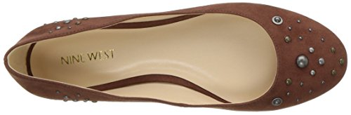 West Women's Nine Fabric Cognac Flat Mary Ballet 5dfwTRq