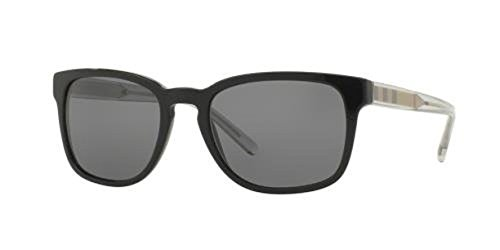 Burberry Men's BE4222 Sunglasses & Cleaning Kit Bundle