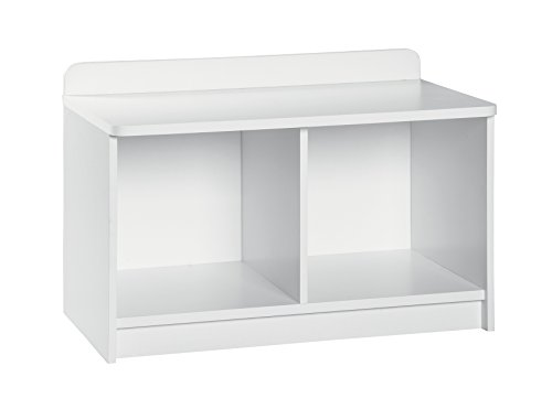 ClosetMaid 1494 KidSpace Small Storage Bench, White (Small Entryway Bench With Storage)