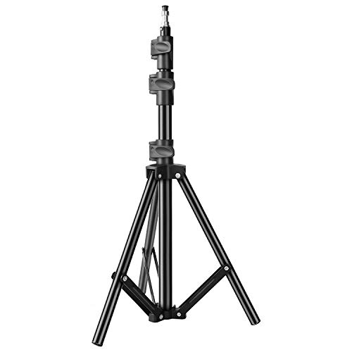 DIGITEK® (DLS-006FT) Lightweight & Portable 6 Feet Aluminum Alloy Light Stand for Photography & Video Shooting | Ring Light | Reflector | Flash Units | Light Lamps | Diffuser | Portrait | Softbox | Studio Lighting | Ideal for Outdoor & Indoor Shoots