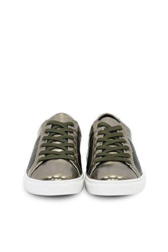 TRUSSARDI JEANS by Trussardi - Zapatos de cordones de Piel para mujer bronce