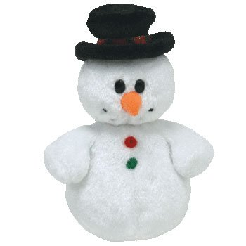 Ty Jingle Beanies Coolston - Snowman (Jingle Buddies Snowman)
