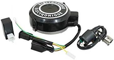 -p2r allumage Cyclo Compatible avec Peugeot 103 electronique 12v avec Bobine et avec cdi Petit Cone