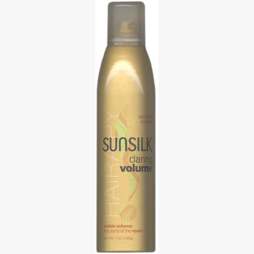 Sunsilk Daring Volume Spray On Mousse, 7 oz {Pack of 2}