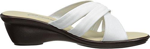Onex Frauen Carolyn Slide Sandale Weiß