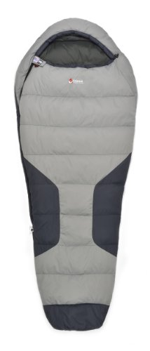 Chinook Polar Micro Mummy Down 32-Degree Sleeping Bag, Grey Review