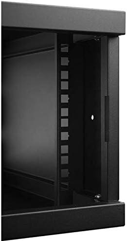 Black 450MM Full Door Rack Cabinet 19 4U