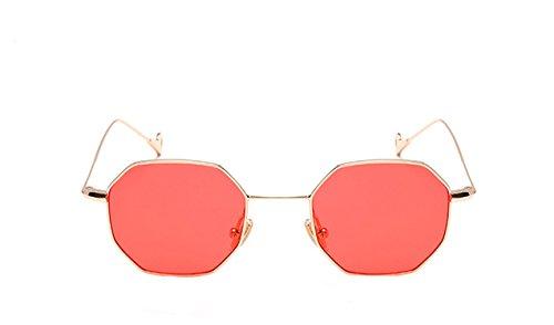 Zackzk Vintage Men Sunglasses Women Glasses For Female Clear Glasses Men Optical Frame Eyeglasses Gold Clear Red