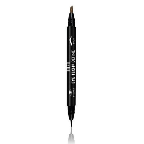 (3 Pack) MILANI Eye Tech Define 2 - In - 1 Brow + Eyeliner Felt Tip Pen - Natural Taupe / Black