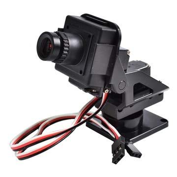 - Yoton Accessories M210 720p Hd Mini FPV Aio Camera W/Nylon Pan Tilt Ptz and Servo for RC Aircraft Photography Quadcopter