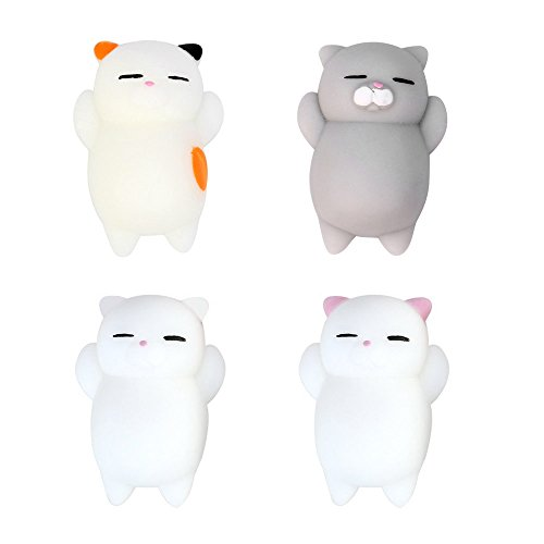 White Cat Soft Toy - 1