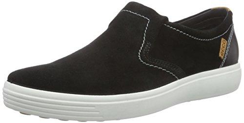 ECCO Soft 7 Men's, Pantofole Uomo Nero(black/Black 53859)