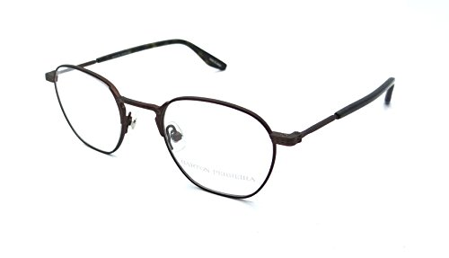 Barton Perreira RX Eyeglasses Frames Ginsberg 46x21 Matte Java Made in - Barton Eyeglasses Perreira