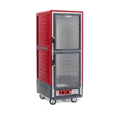 Full Height Insulated Mobile Heated Cabinet w/ (17) Pan Capacity, 120v